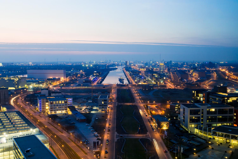 Panorama von Bremen